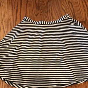 New York and Co stretch circle mini skirt